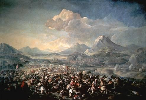 La Batalla de Montjuic de 1641, por Pandolfo Reschi