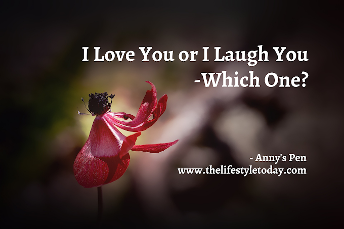 I Love You or I Laugh You - Which One?