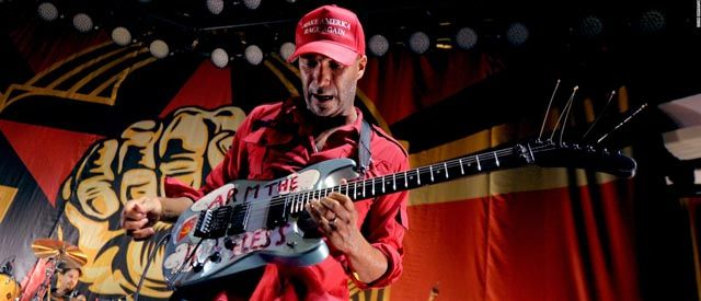 Guitarra de Tom Morello Arm the Homeless (Arma de vagabundos)