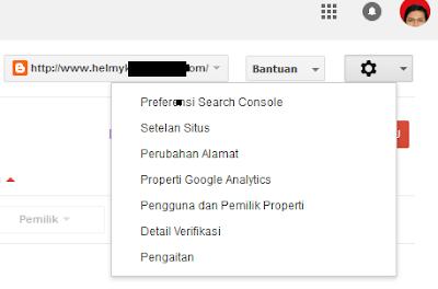 Cara verifikasi situs blog kegoogle webmaster1