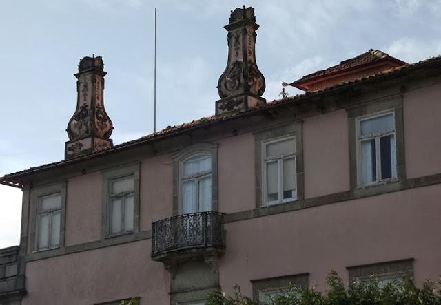 Fachada de palacete do Porto