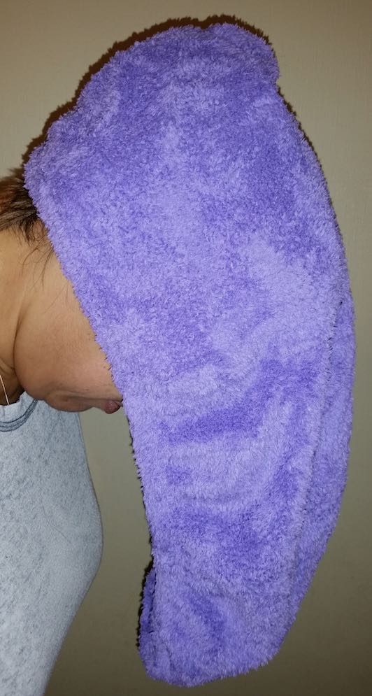 Roots & Rituals Heated Hair Towel
