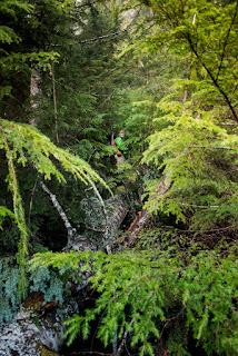 Clayoquot Plateau lake map, Caver's Trail