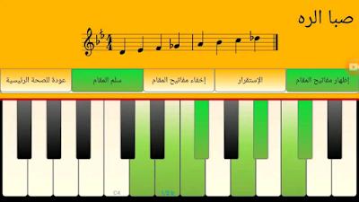 المقامات الأساسية للموسيقى الشرقية مع الإرتجال والاطلاع على خصوصيات المقام : عوارضه ، عقوده وأمثلة لكل مقام.
