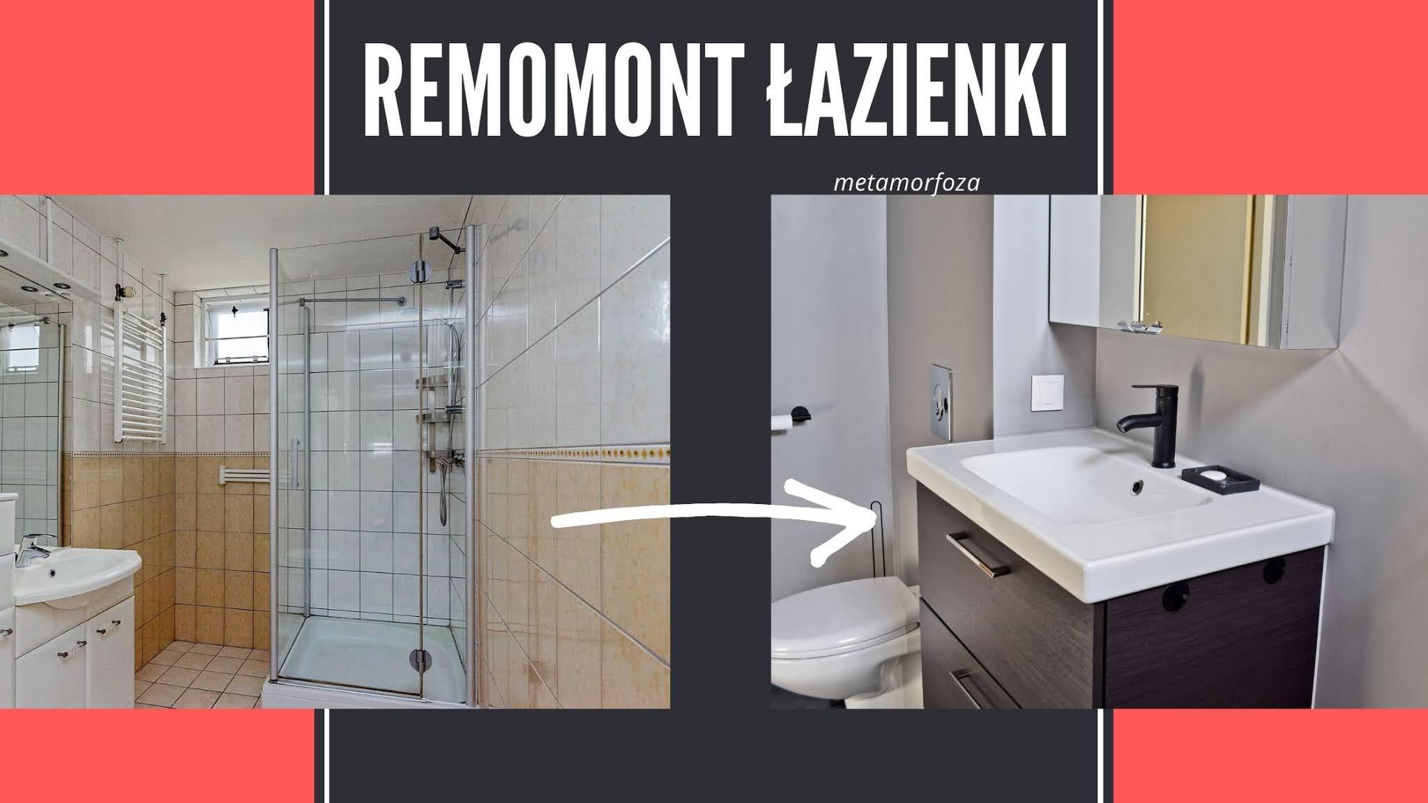Metamorfoza starej łazienki