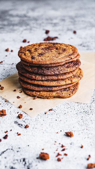 Dessert, cookies, crumbs