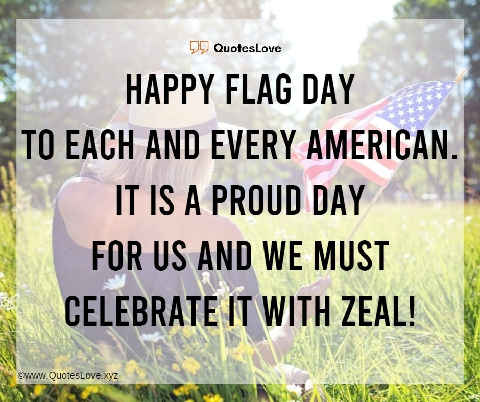 Flag Day Quotes, Wishes, Messages, Greetings, Images, Poster, Photo, Wallpaper