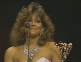 WWF - Slammy Awards 1987 - Miss Elizabeth won Woman of the Year