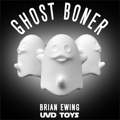 Five Points Festival 2019 Exclusive Ghost Boner Raw Edition Resin Figure by Brian Ewing x UVD Toys