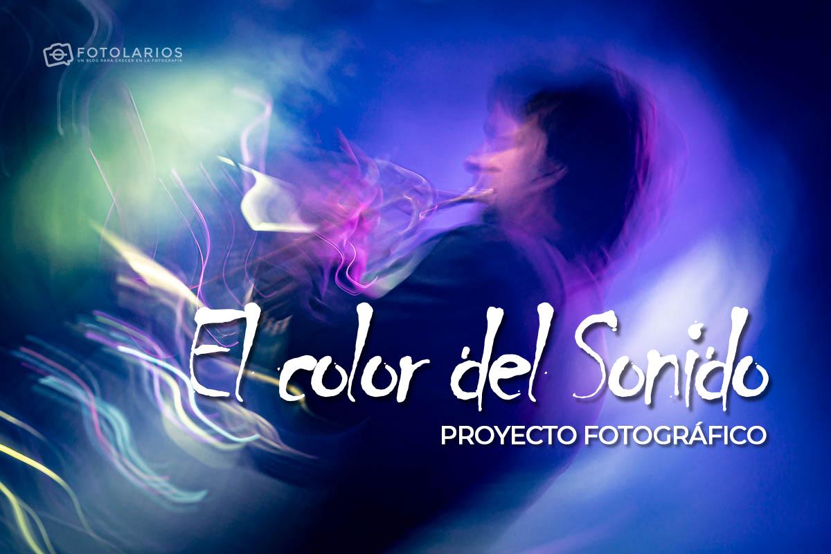 'El color del sonido', proyecto fotográfico