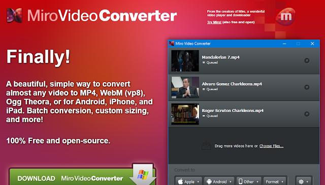 Miro Video Converter - Charkleons.com