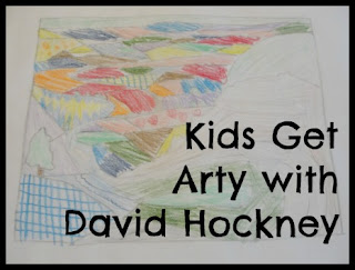 kids get arty with david hockney