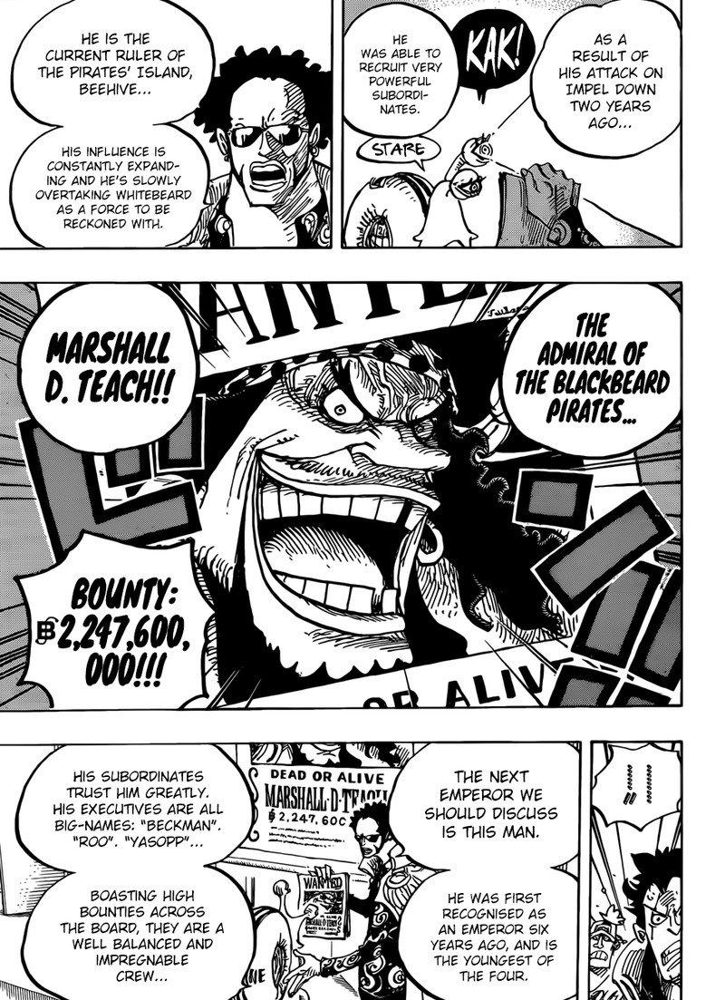 One Piece Manga Chapter 957 - Image 013