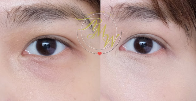 before and after photo of Pony Effect Pro Fit Liquid Concealer Review by Nikki Tiu of askmewhats.com