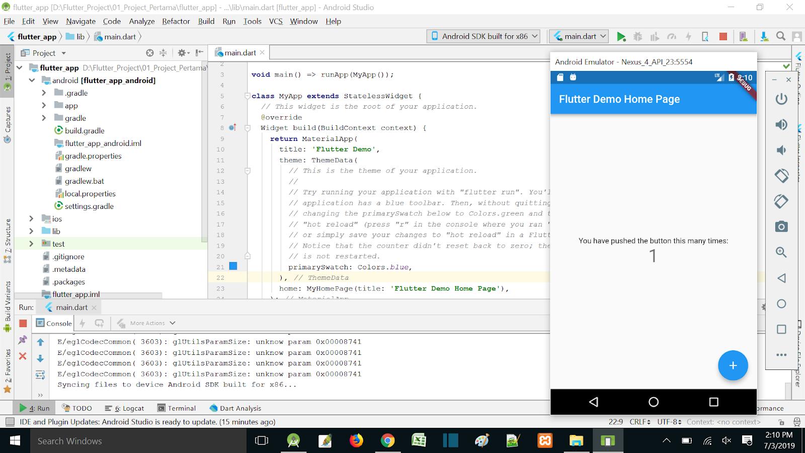 Android Studio Indonesia