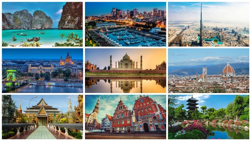 افضل الاماكن السياحية في العالم