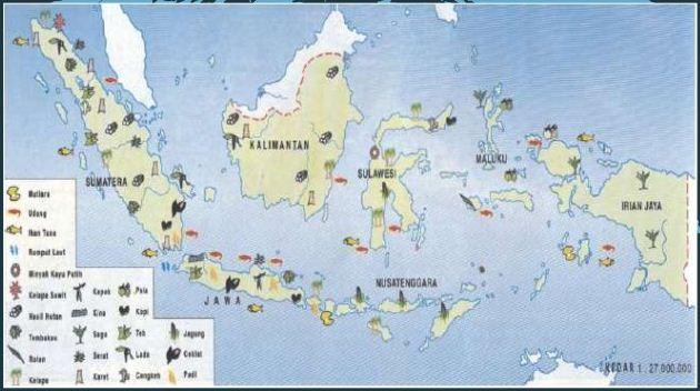 Peta Persebaran Flora Di Indonesia beserta Penjelasannya