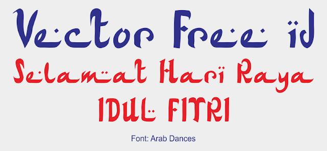 Font Arab Dances