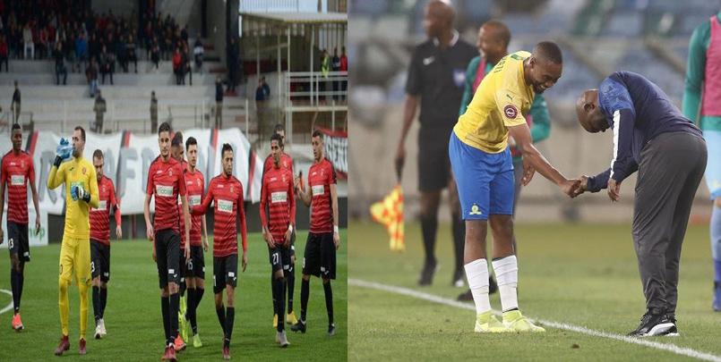 صور من مباراة إتحاد العاصمة اليوم في جنوب افريقيا.png