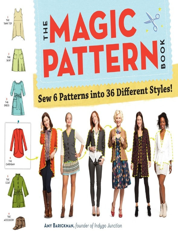 The Magic Pattern: Book Sew 6 Patterns Into 36 Different Styles!