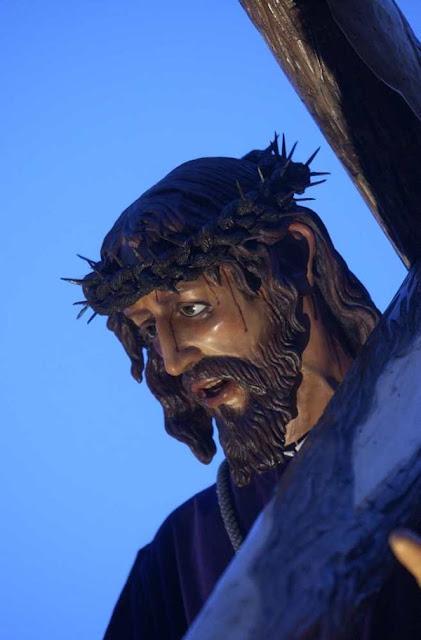 Nuestro Señor Jesús de la Salud. Real cofradía del Minerva y Vera Cruz. León. Foto Mauricio Peña.