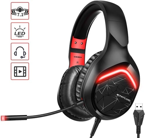 Review SOMIC Gaming Headset 7.1 Virtual Surround Sound