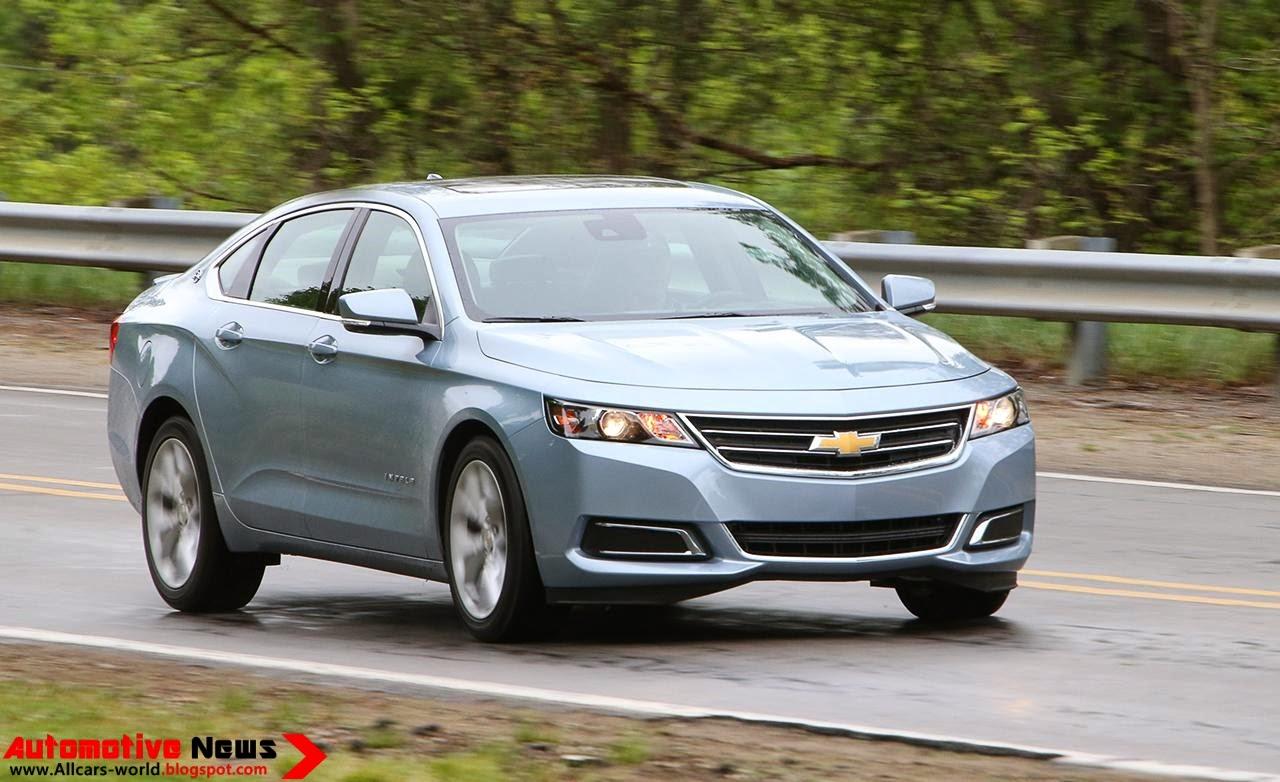 Impala 2003 chevy impala reviews : Automotive News: 2014 Chevrolet Impala