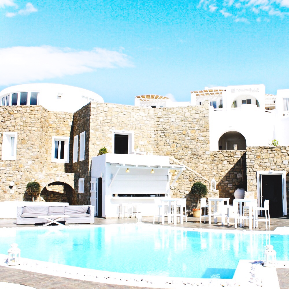 Rocabella Mykonos hotel, luxury and trendy Mykonos island hotels
