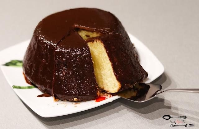 ciasta i desery, baba na Wielkanoc, babka wielkanocna , świąteczna babka, babka budyniowa, babka z czekoladą, świąteczne wypieki,