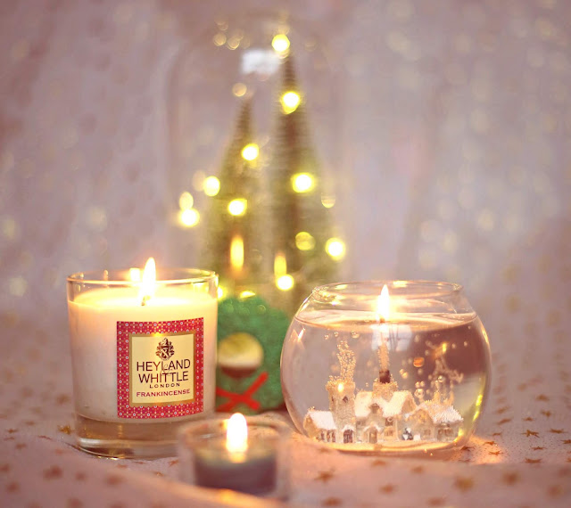 candles heyland whittle london frankincense reed diffuser stone glow winter village candle