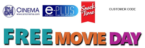 Free 2 Movie Pass at all SM Cinema on December 8, 2012