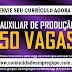 AUXILIAR DE PRODUÇÃO, 50 VAGAS PARA EMPRESA DE TERCEIRIZAÇÃO NO RECIFE