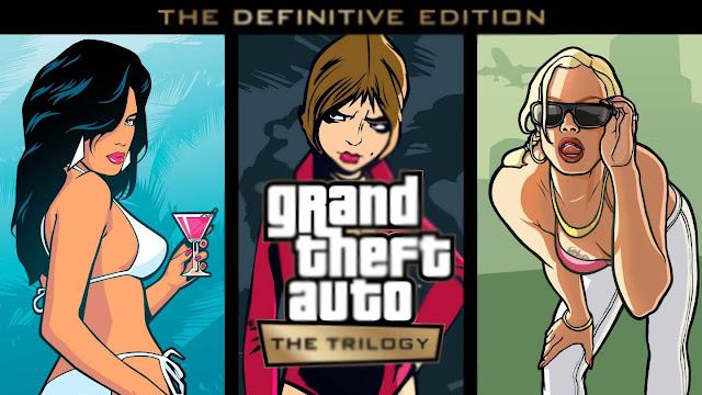 أعلنت روكستار عن GTA Trilogy Definitive Edition remaster لوحدات التحكم وأجهزة الكمبيوتر والهاتف المحمول