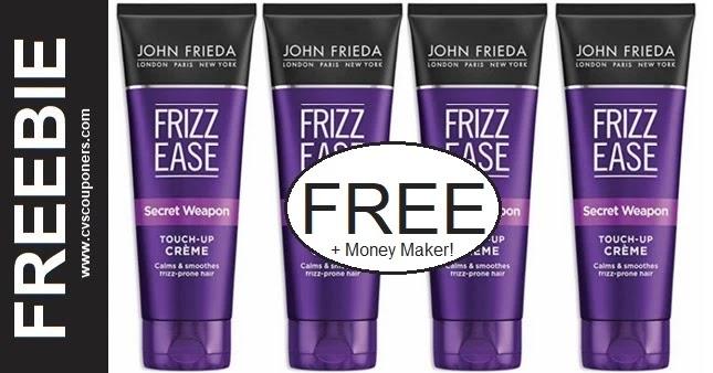 FREE John Frieda Shampoo at CVS