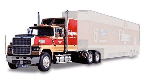 tractora ford ltl 9000 1:43, camiones 1:43, camiones americanos 1:43, coleccion camiones americanos 1:43, camiones americanos 1:43 altaya españa