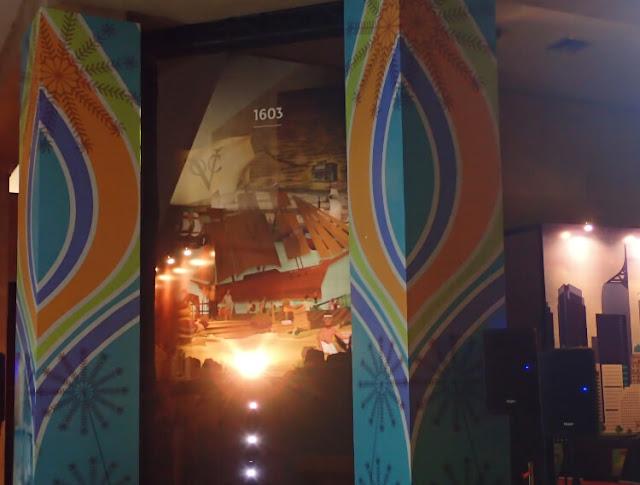 monas week 2019, pertunjukan ilustrasi hologram, sejarah jakarta
