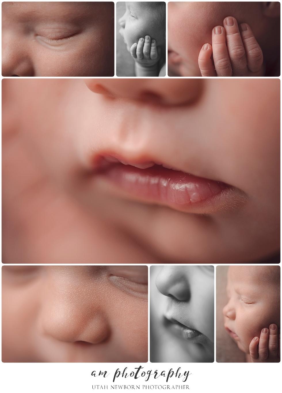 photos of newborn baby details