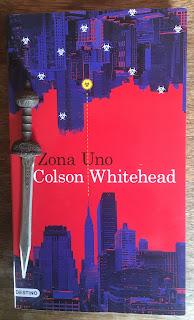 Portada del libro Zona Uno, de Colson Whitehead