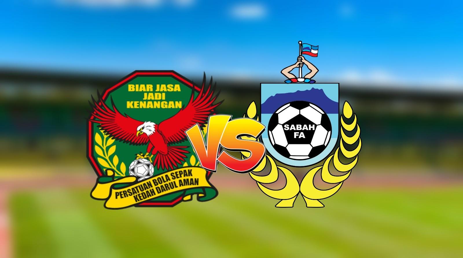 Live Streaming Kedah vs Sabah Liga Super 21.9.2020
