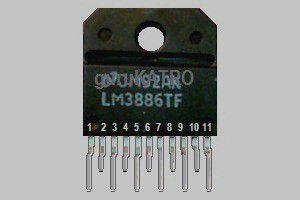 68 watt Power Amplifier dengan IC LM3886