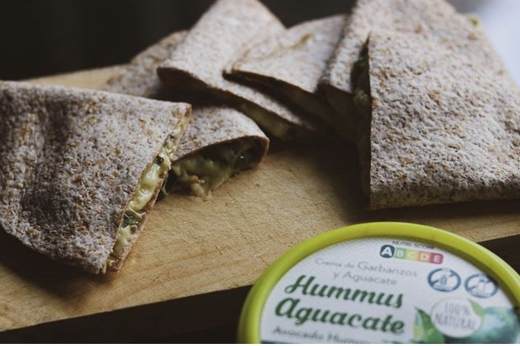 recetas humus aguacate deportistas