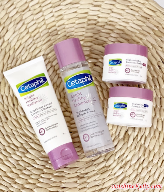 Reveal Bright and Radiant Complexion,  Cetaphil, Cetaphil Bright Healthy Radiance, Cetaphil, Creamy Cleanser, Refresh Toner, Beauty