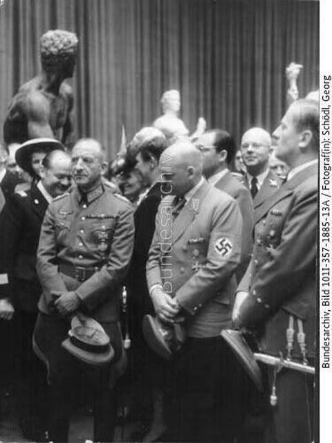 Fritz Sauckel in Paris, 15 May 1942 worldwartwo.filminspector.com