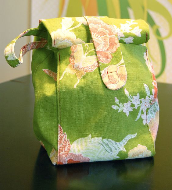 Lunch Sack Bag Tutorial