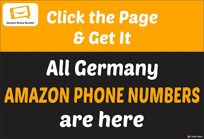 Amazon Phone Number Germany | All Germany Amazon Phone Number Are Here
