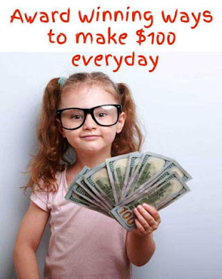 Award Winning Ways to make $100 everyday : Award Winning Blog