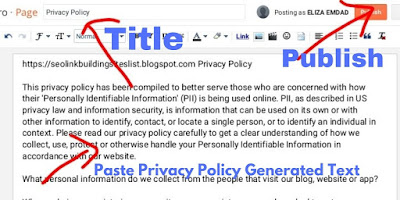 Privacy Policy Statistic Page