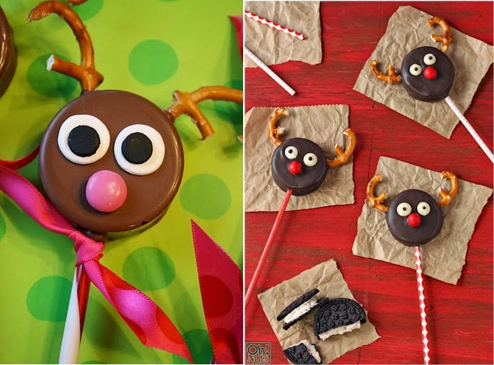 The Handcrafted Christmas Reindeer Cookies Think Upside Down And