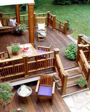 Home and garden august 2011 - Deck ideas for home ...