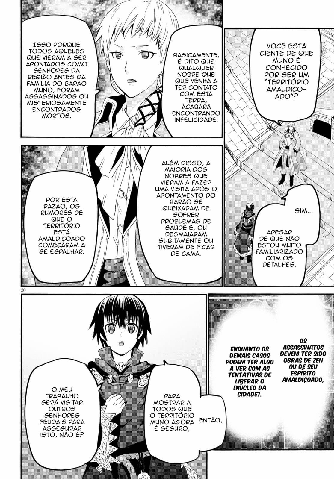 Death March Kara Hajimaru Isekai Kyousoukyoku / Death March To The Parallel World Rhapsody Mangá Online Capítulo 64